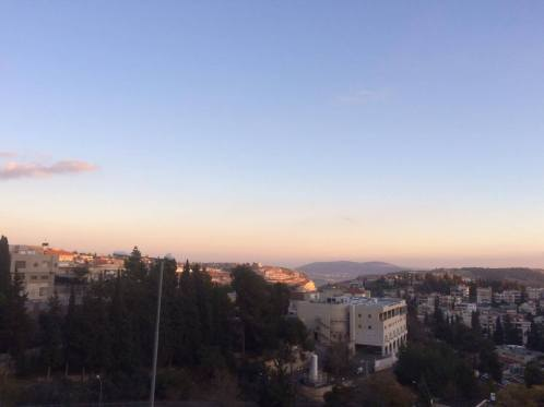View from hospital